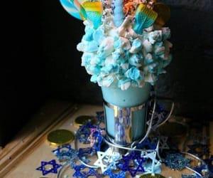 azul, blue, and comida image