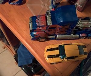 collection, optimus prime, and toys image