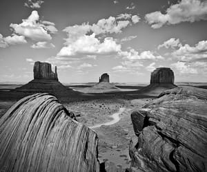 ansel adams, desert, and road image