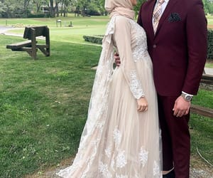 amour, hijab, and mariage image