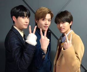 taeil, doyoung, and yuta image