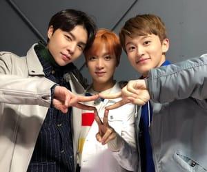johnny, haechan, and mark image