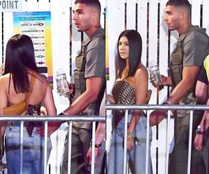 kim kardashian, kourtney kardashian, and kendall jenner image