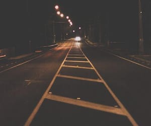 night, street, and photography image