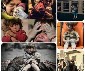 guerra, niños, and siria image