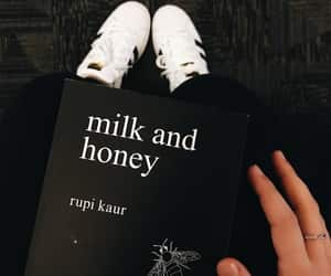 article, milk and honey, and love image