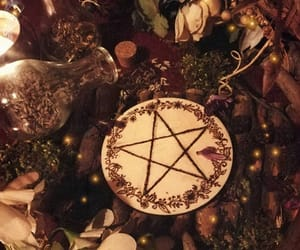 altar, not my photo, and magick image