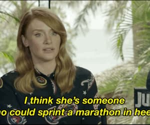 bryce dallas howard, Claire, and gif image