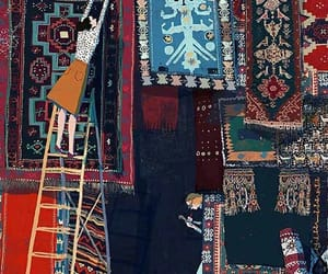 market, place, and rugs image