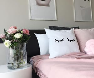 home, lashes, and roses image
