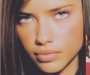Adriana Lima, eyes, and gorgeous image