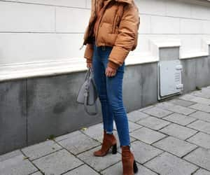 black, fashion, and tan image