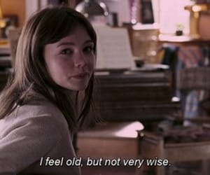 an education, Carey Mulligan, and old image