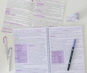 doodles, purple, and school image