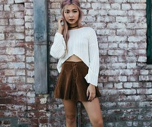 brown, fashion, and color image