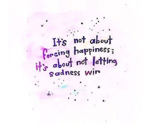 sadness, happiness, and quotes image