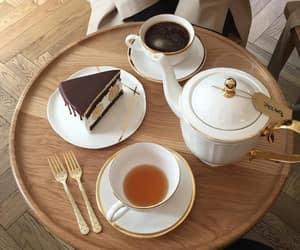 food, tea, and coffee image