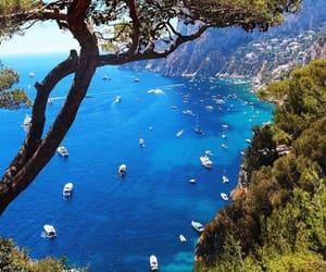 travel, capri, and wanderlust image