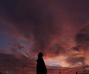 cloud, Darkness, and human image