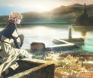 anime, city, and beautiful image