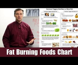 video and fat burning foods image