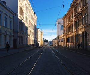 blue, city, and finland image
