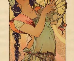 alphonse mucha, Art Nouveau, and art image
