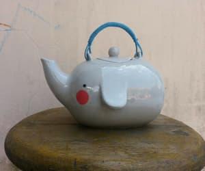 tea, elephant, and cute image
