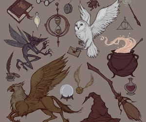 art, draw, and harry potter image