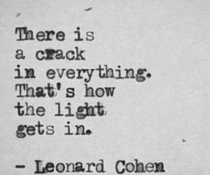 quotes, light, and crack image