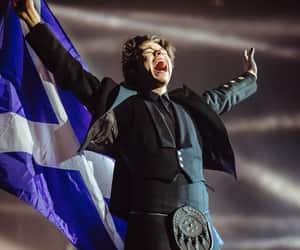 flag, kilt, and scotland image