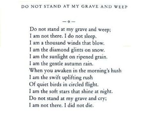 poem, quotes, and death image