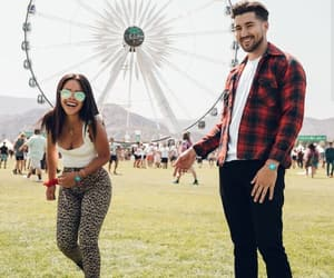 beauty, fashion, and music festival image
