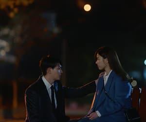 caps, couple, and lee jong hyun image