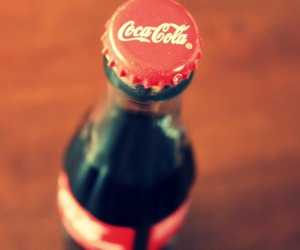 coke, cola, and red image