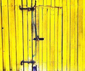 door, gate, and minimalism image