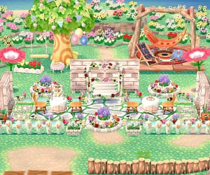 animal crossing, campsite, and inspiration image
