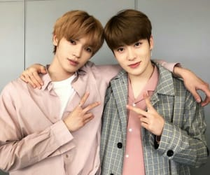 beautiful boys, rose, and nct image