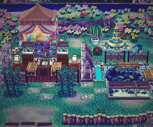 animal crossing, inspiration, and campsite image