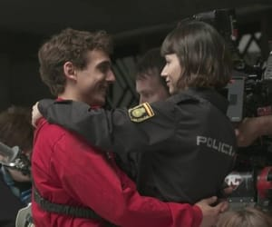 couple and la casa de papel image