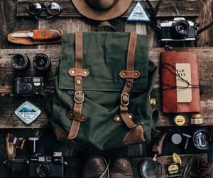 adventure, backpack, and travel image