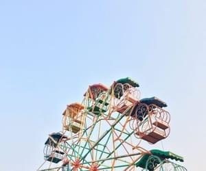 fair, ferris wheel, and summer image