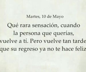 again, frase, and triste image