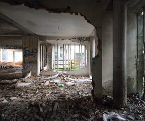 abandoned, brutalist, and grunge image