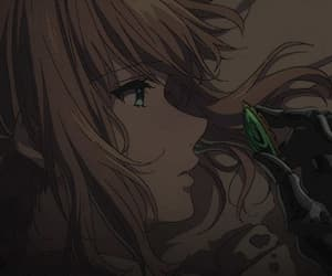 anime, gif, and violet evergarden image