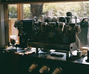 brew, barista, and coffee image