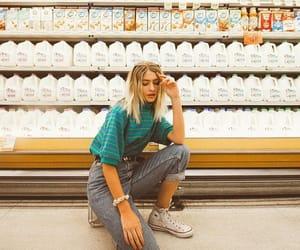 80's, denim, and fashion image