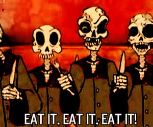 avenged sevenfold, eat it, and gif image