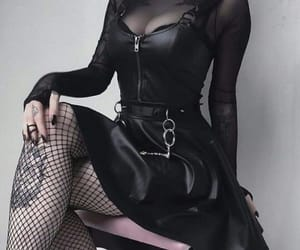 alternative, fashion, and goth image