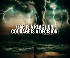 courage, decision, and quotes image